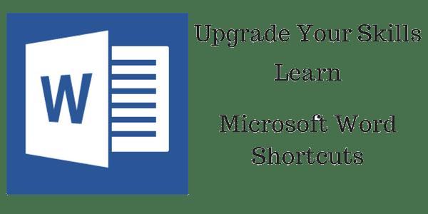 microsoft word shortcuts ,learn, Upgrade-Your-Skills-Learn knowandask
