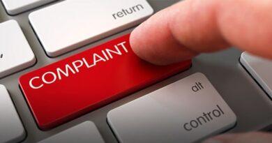 Complaints online