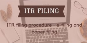 Income Tax Returns [ITR]