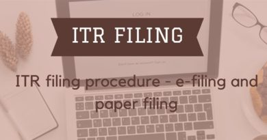 Income Tax Returns [ITR]