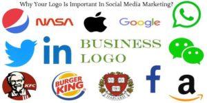 Companies logo for social media promotion