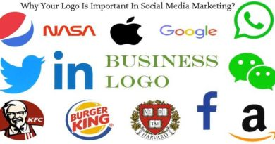 Companies logo for social media promotion