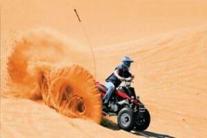 DESERT SAFARI DUBAI Dirt Ride