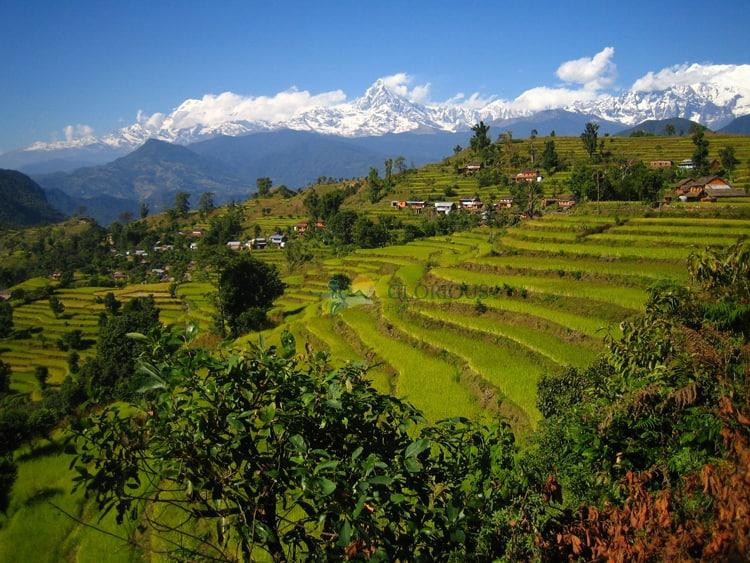 annapurna ranges from royal trek