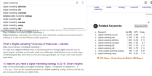 keywords everywhere Best keyword research tool for seo at knowandask
