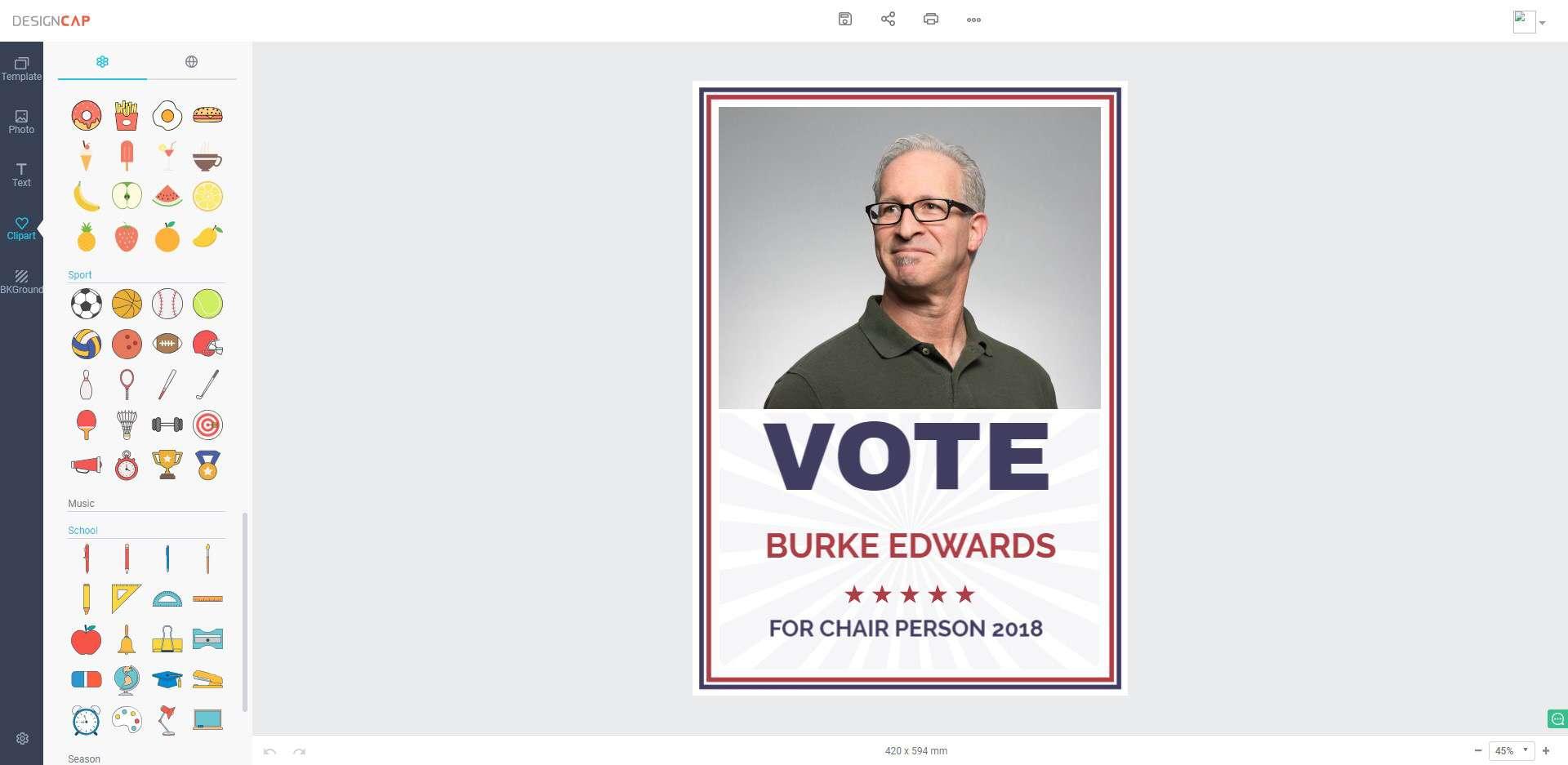 DesignCap Review Poster making free online tool