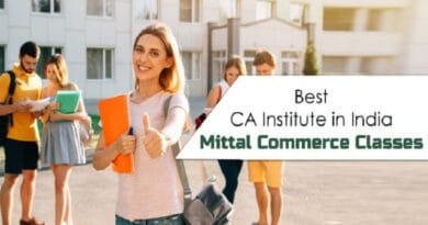 Best CA Institute in India - Mittal Commerce Classes