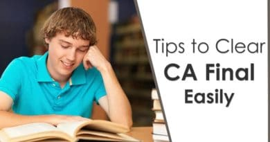 Some Tips to Clear CA Final Easily