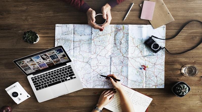 Online travel planning