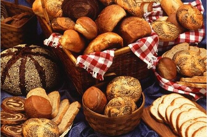 products in bakery bread