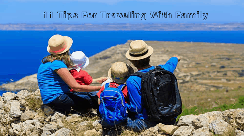 Travel With Kids – 11 Tips For Traveling With Family!