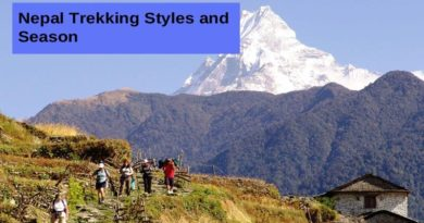 Nepal Trekking Styles and Season