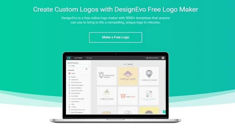 DesignEvo logo template