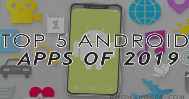 Top 5 Android Apps of 2019