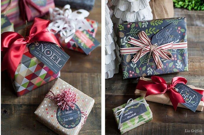 gift box Splash of Colors