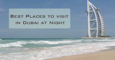 the best places to visit in dubai at night