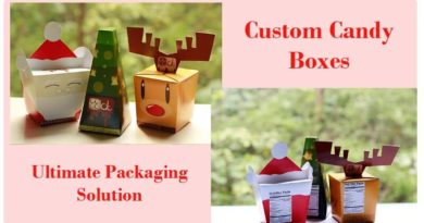 Custom Candy Boxes packing