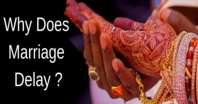 Why Does Marriage Delay?