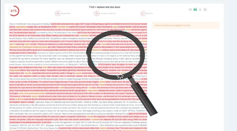 Free online plagiarism checker tool