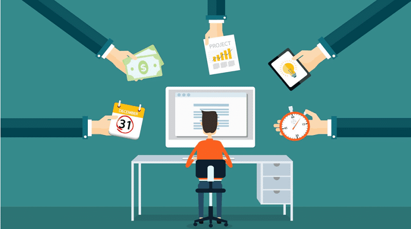 Students earn money online
