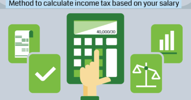 Calculate income tax