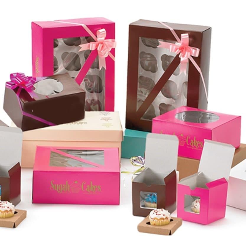 Cupcake Boxes Printing