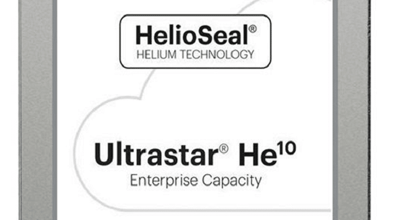 Helium Technology Hard Drives
