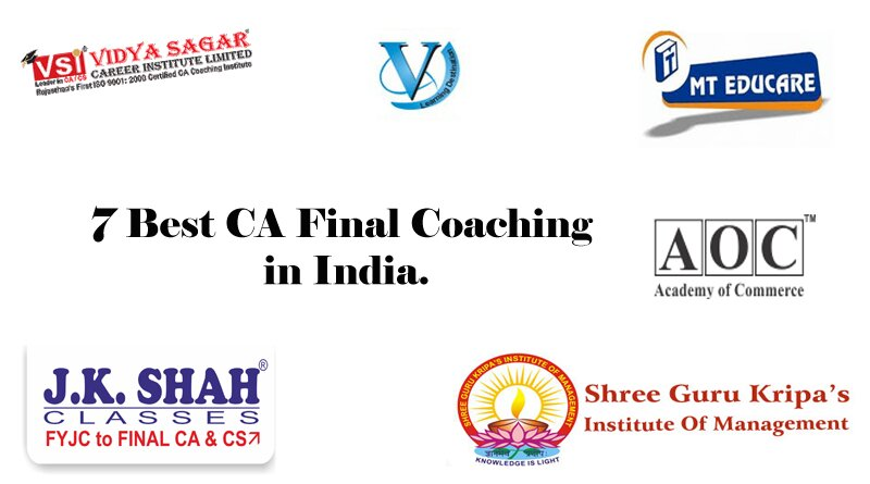7 Best CA Coaching in India.