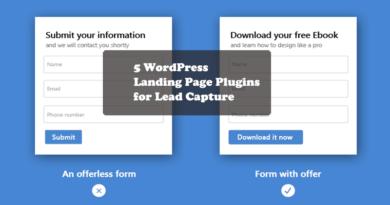 Landing Page Plugins templates