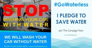 waterless car wash technique