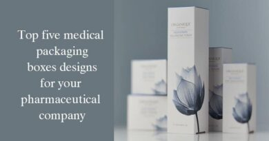 Top five medical packaging boxes designs